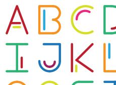 Alphabet 'Stroke'