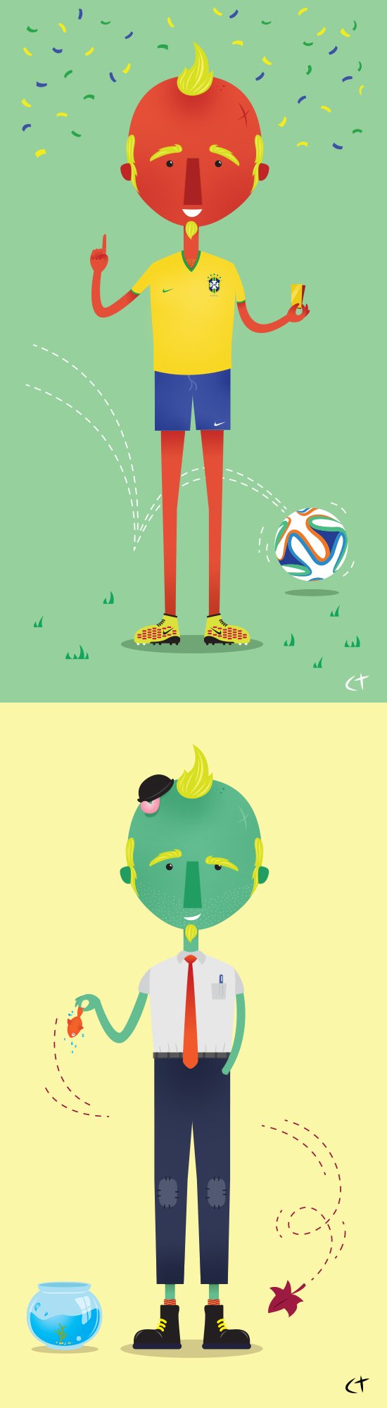 World Cup Brazil 2014 Character